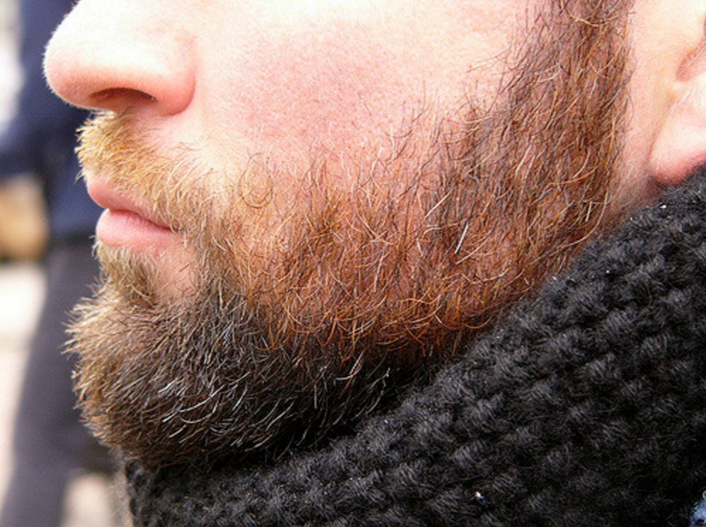 Une belle peau sous la barbe