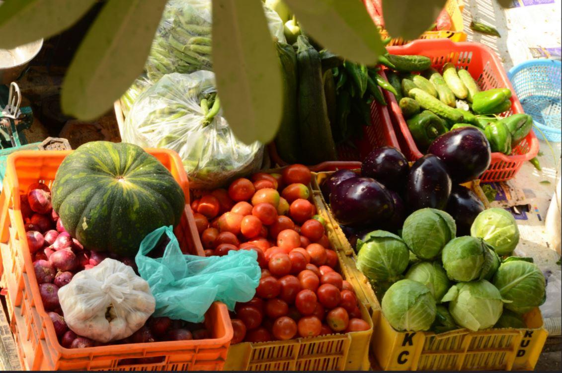 L'indice glycémique de différents légumes