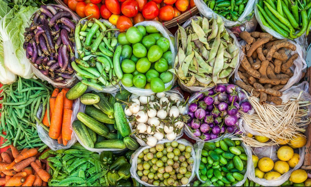 la raw food, des aliments bruts