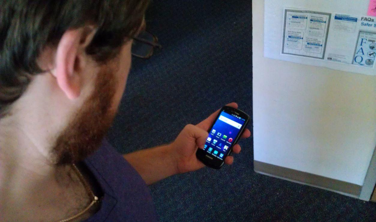 le smartphone et une application mobile santé