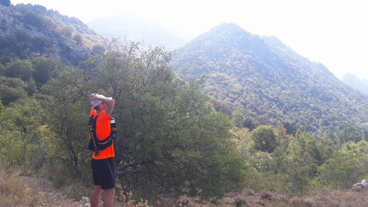 trail runner fatigué