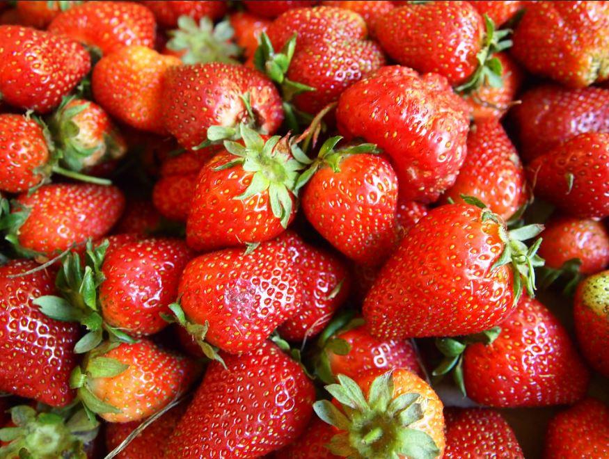 vitamine C fraises