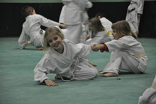 Un sport pour enfant : le judo.