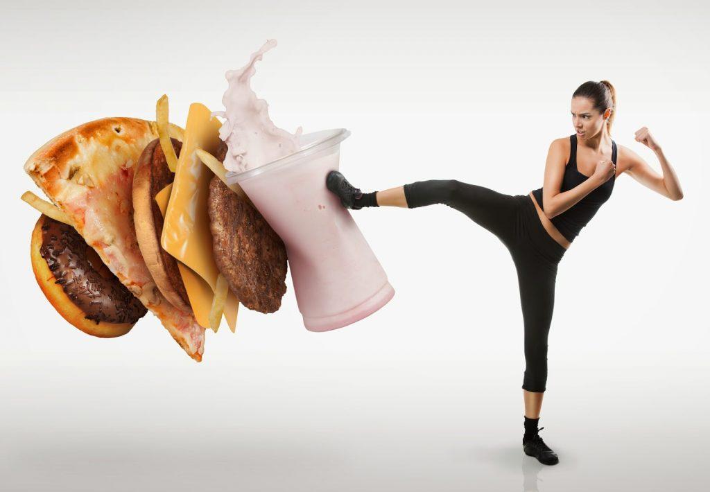 halte aux calories avec le rééquilibrage alimentaire