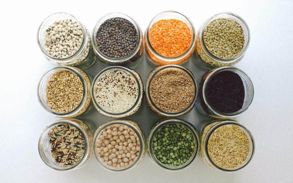 Végétarien : céréales et légumineuses