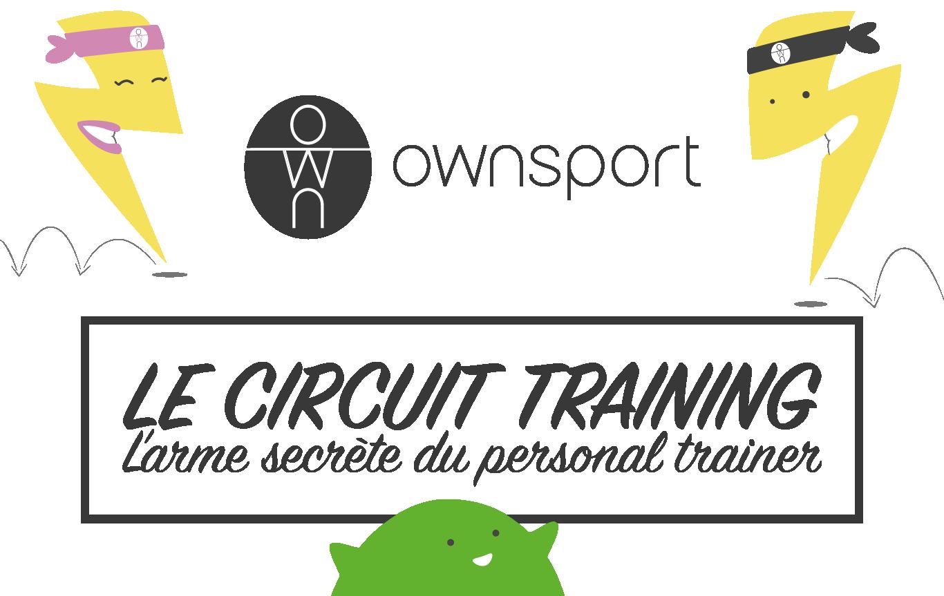 Circuit training sur mesure avec Ownsport