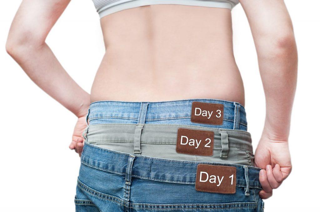 Perte de poids bloquée