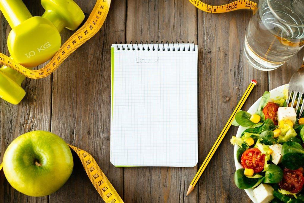 carnet pour prendre note de vos changements alimentaires