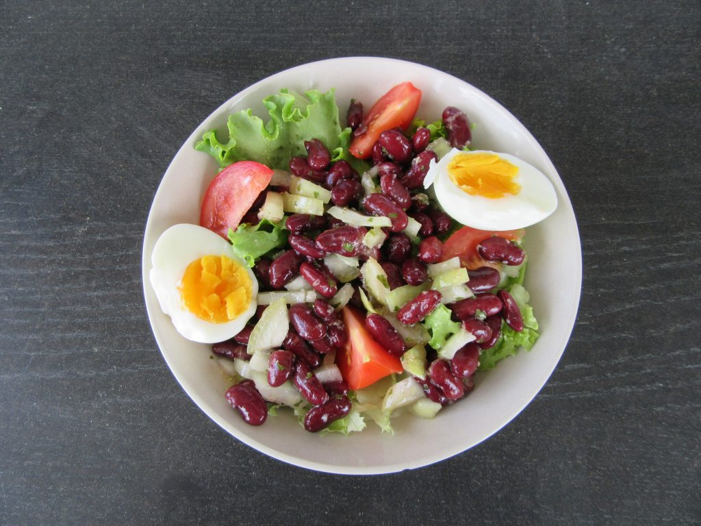 salade haricots rouges