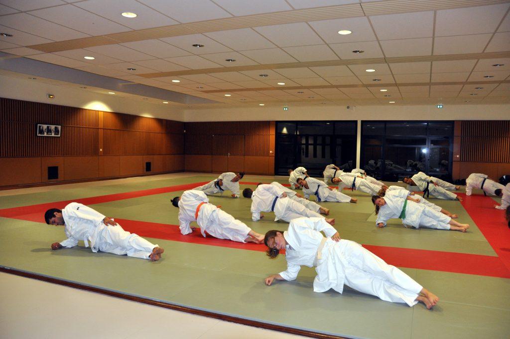 gainage judo