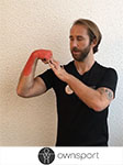 Exercices de stretching des extenseurs des doigts