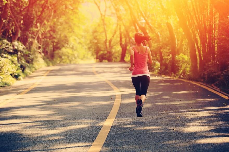 Running sur route