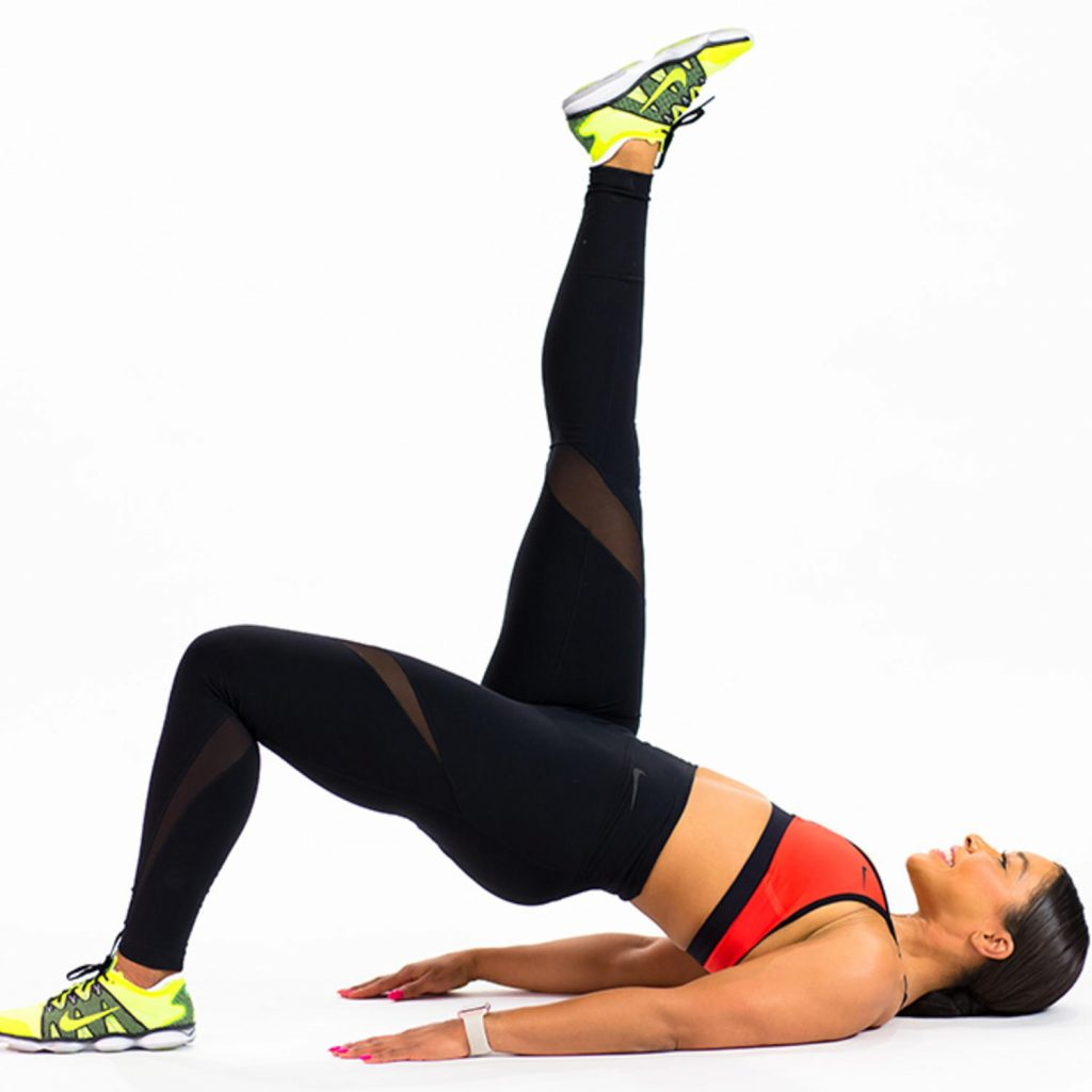 Exercice de Pilates avancés : Le Shoulder bridge