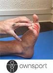 Les exercices de stretching du court fléchisseur des orteils