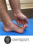 Les exercices de stretching du court fléchisseur de l'hallux