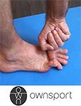 Les exercices de stretching du court fléchisseur du petit orteil