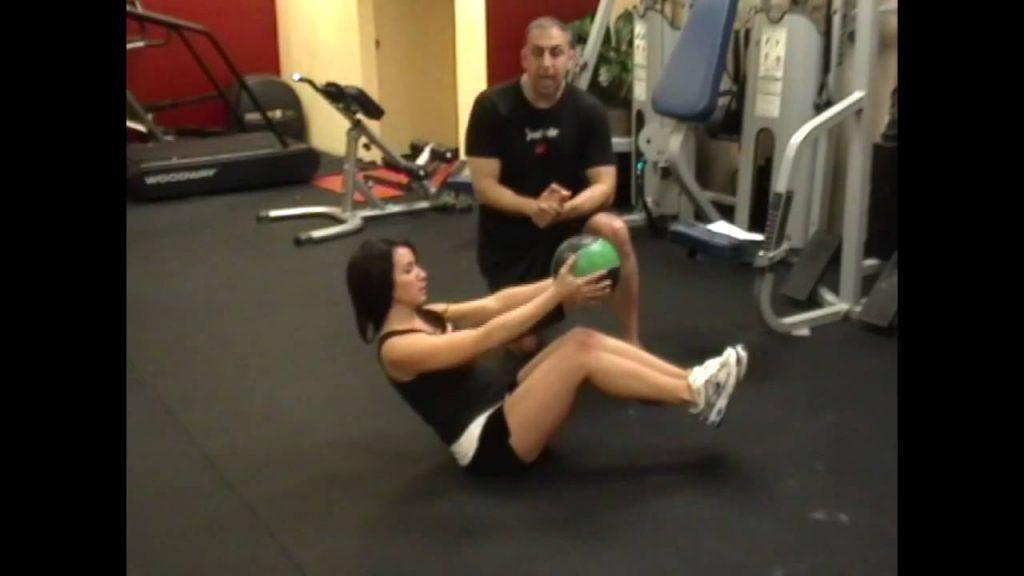 Matériel de sport : exercices medecine ball