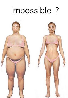 perte de poids avant / après
