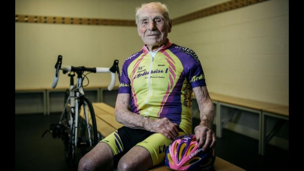 Robert Marchand le plus vieux sportif du monde