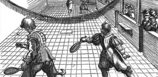 Professeur de tennis : le jeu de paume