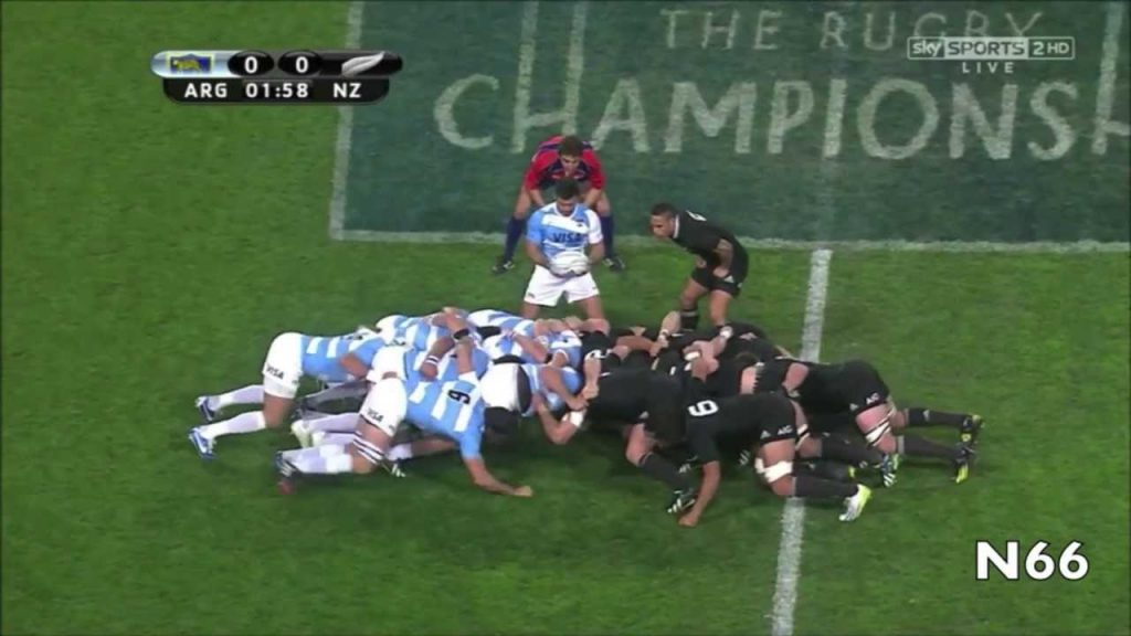 Mêlée en rugby