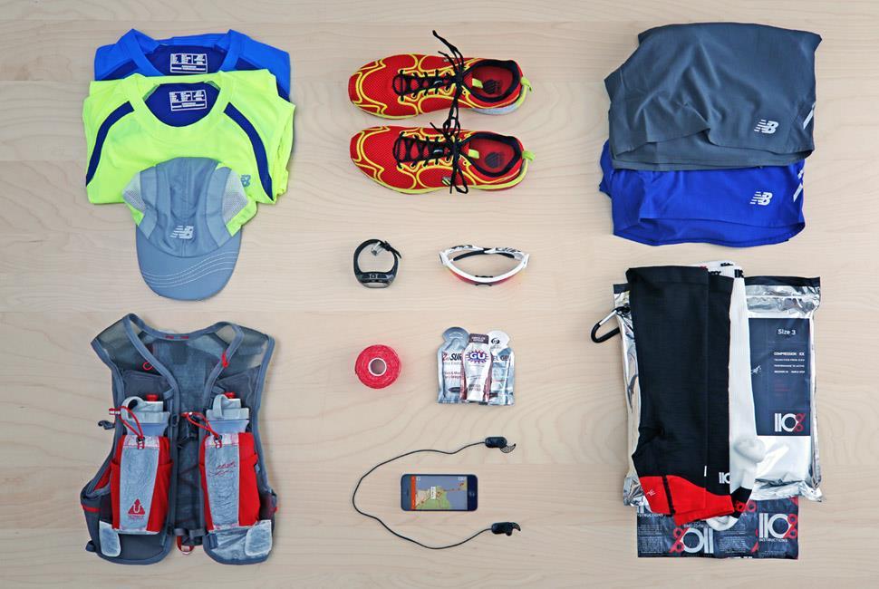 Marathon, l'équipement
