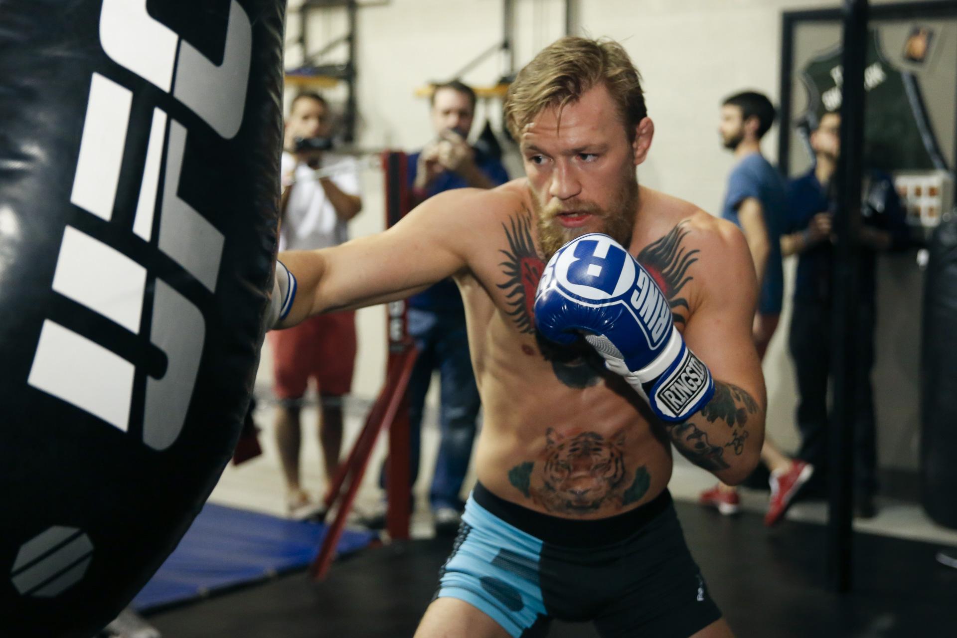 préparation physique d'un boxeur