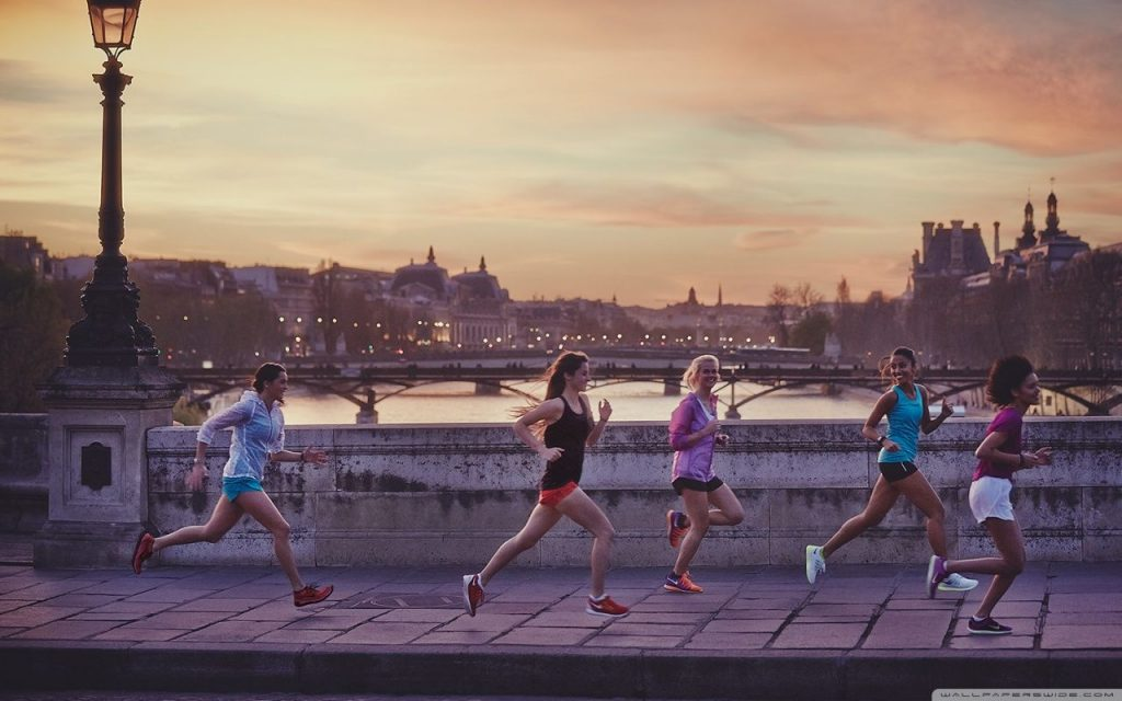 Running à paris