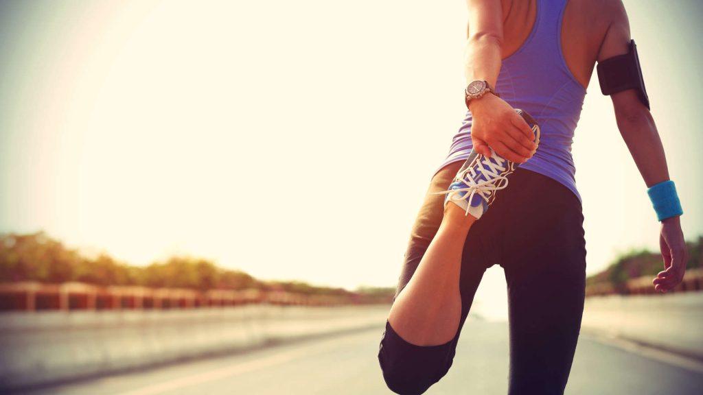 étirement pour le running