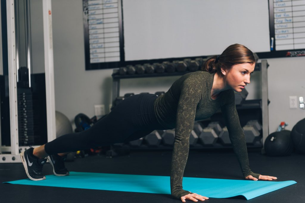 Programme renforcement musculaire haut du corps : planche