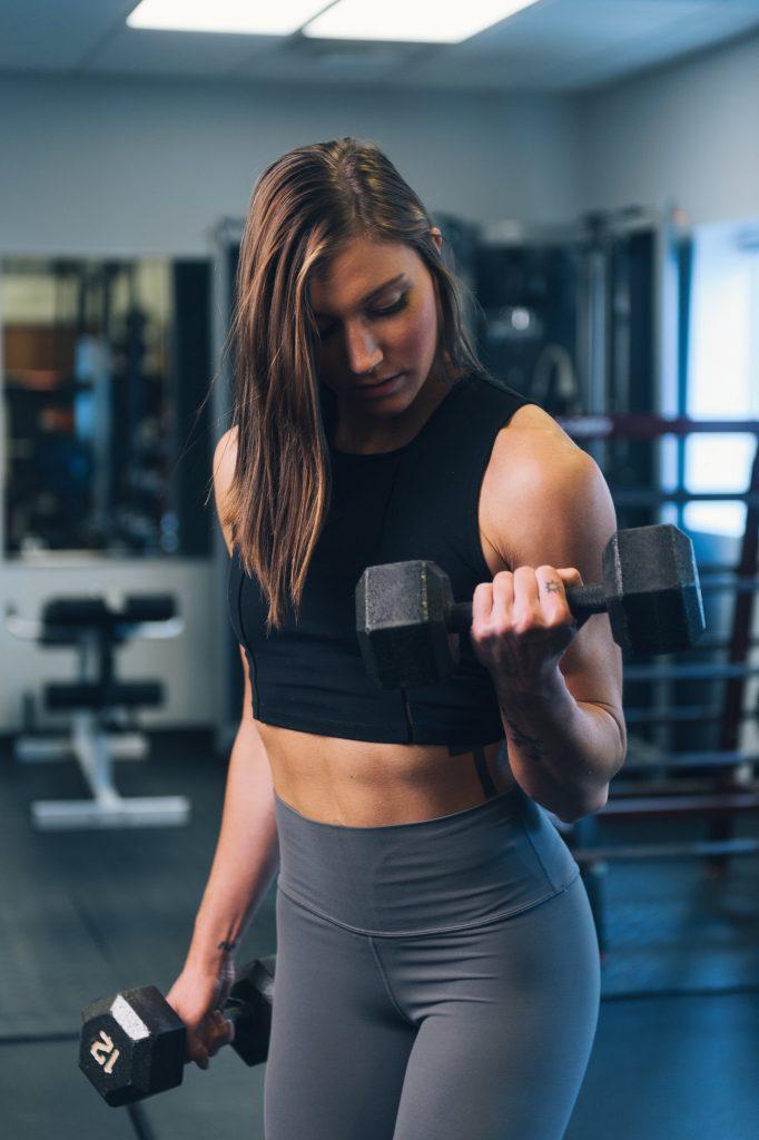 Programme renforcement musculaire haut du corps : curl biceps