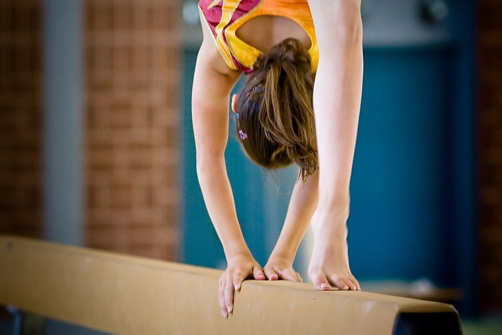 Améliorer son équilibre en gymnastique