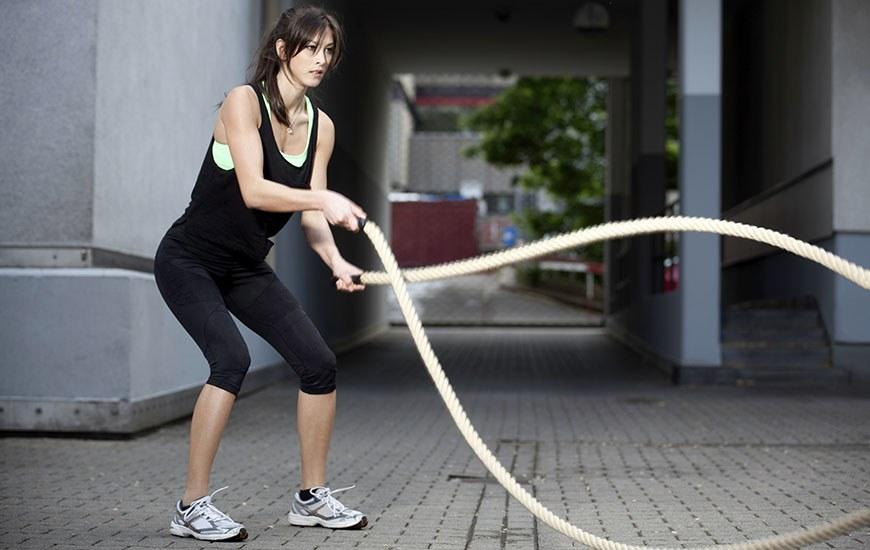 Programme remise en forme : corde ondulatoire