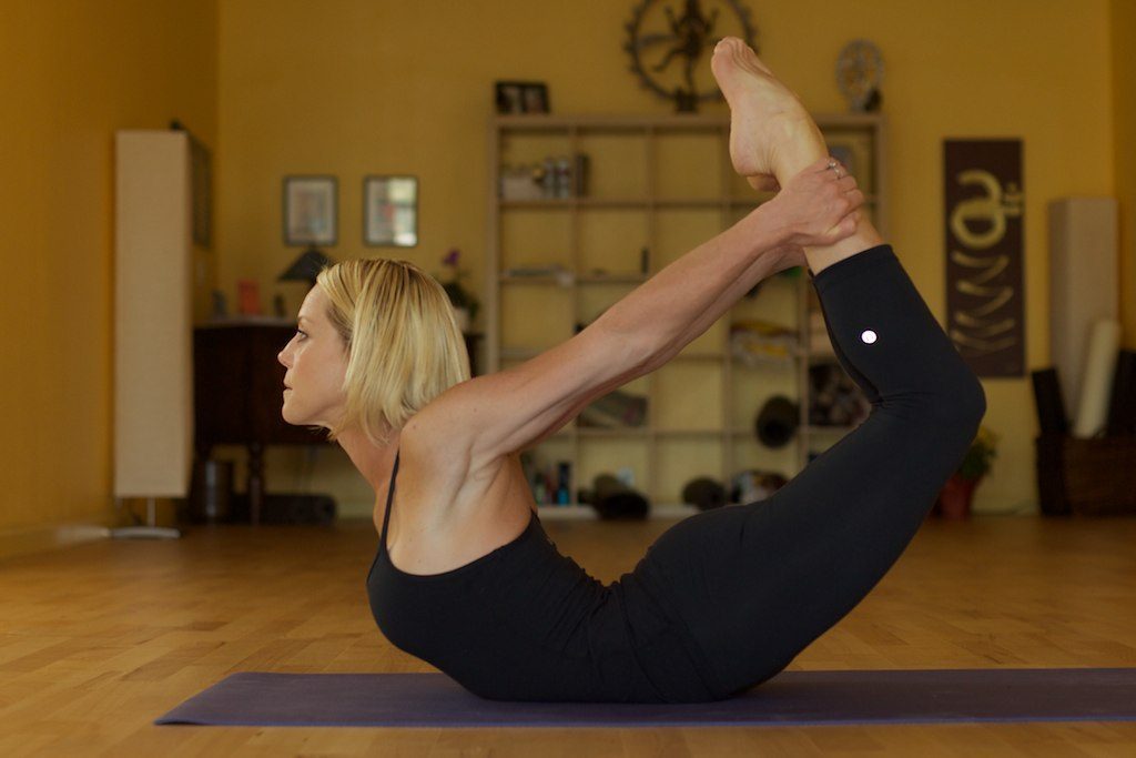 Yoga, Dhanurasana ou Posture de l'arc