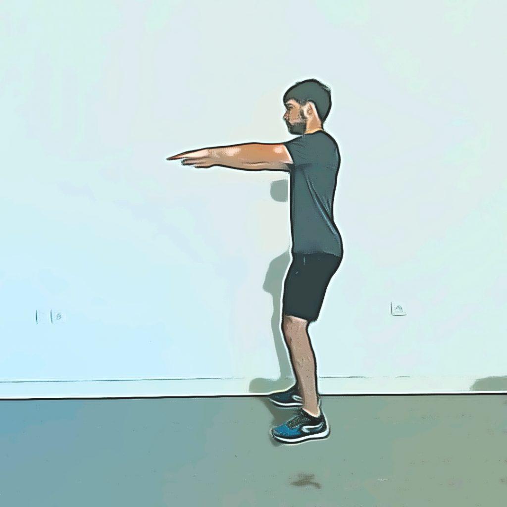 Position de départ de squat