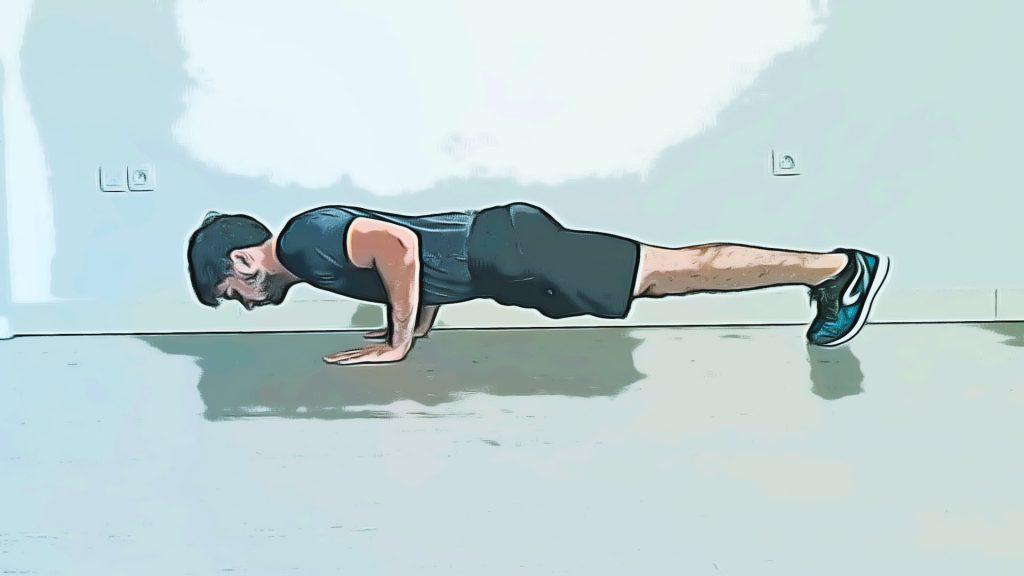 Exercices de renforcement musculaire : les pompes