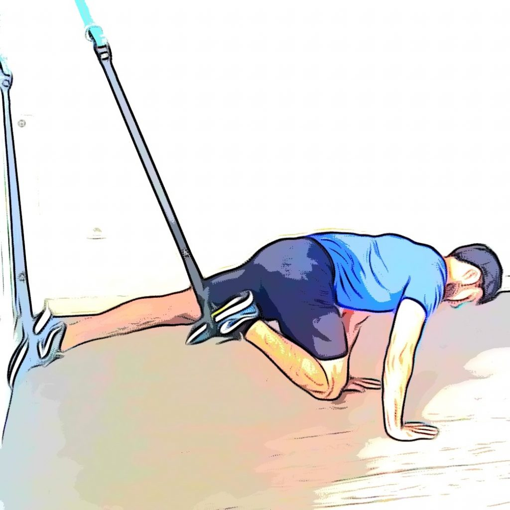 Exercices TRX mountain climber