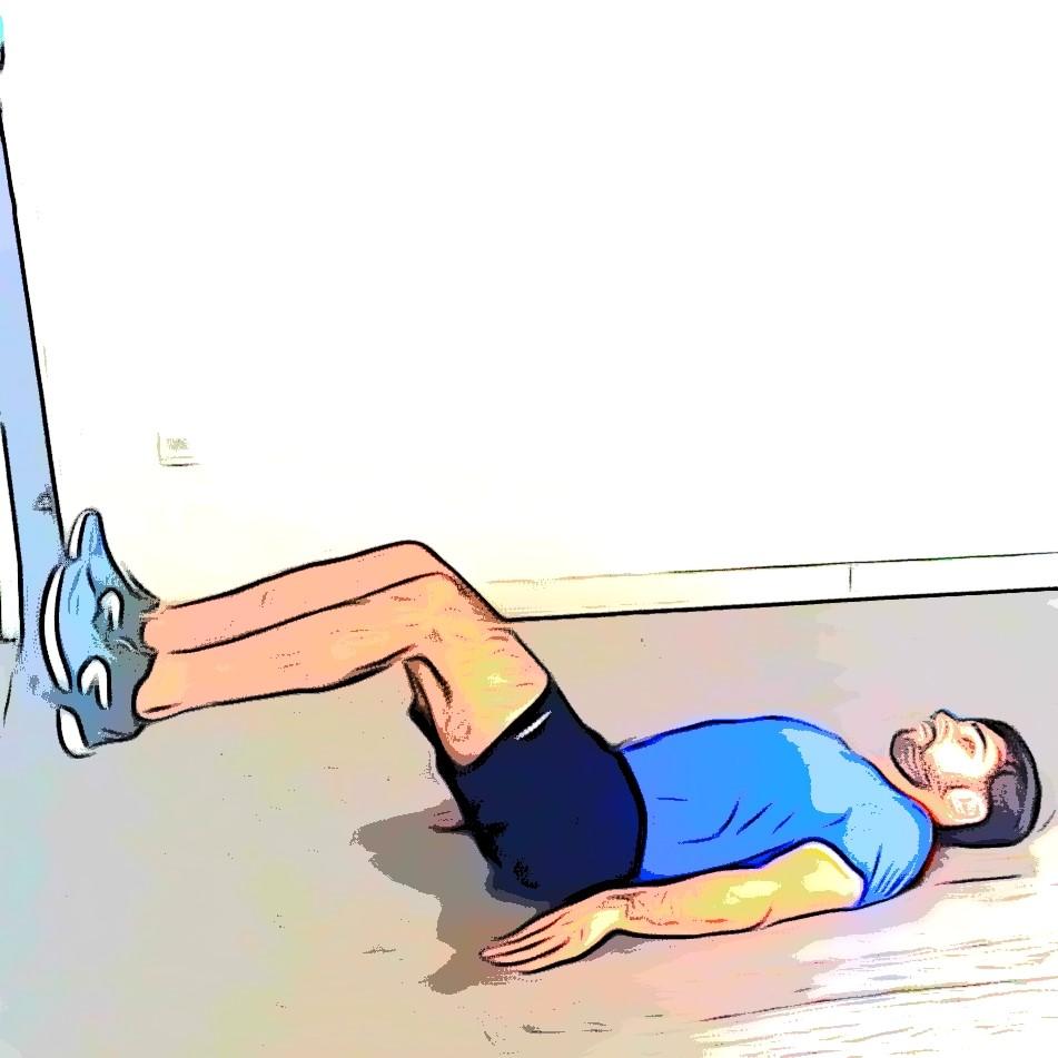 TRX hip thrust : position de départ