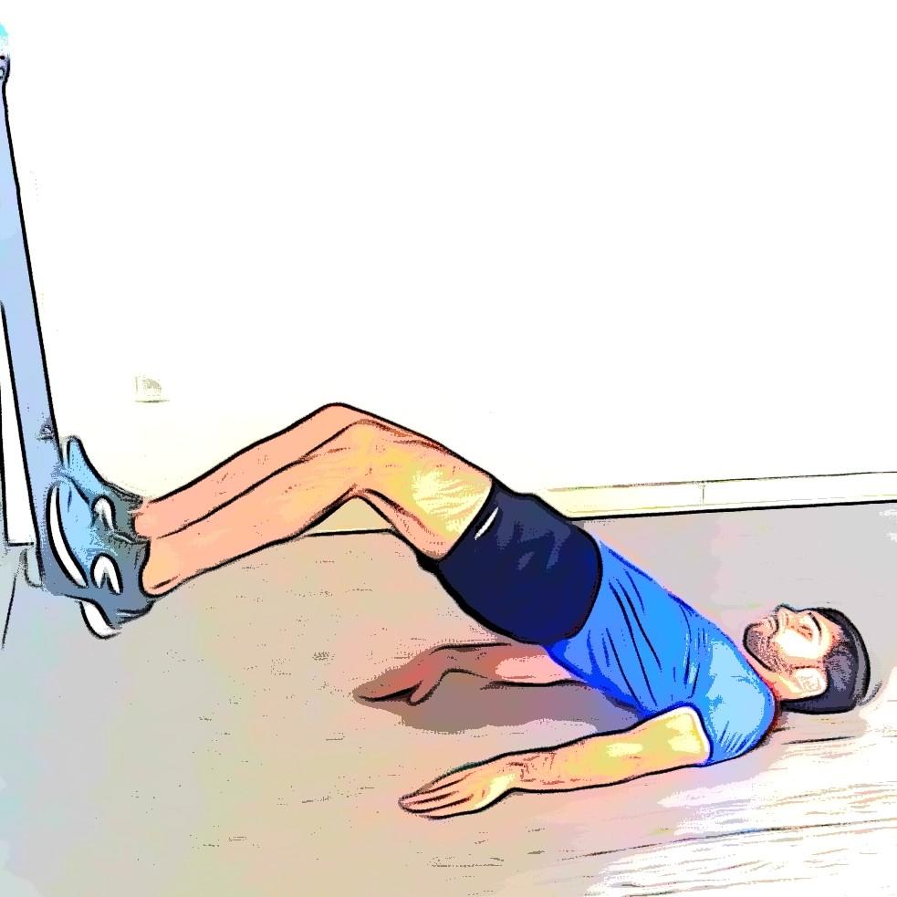 TRX hip thrust : relevé de bassin