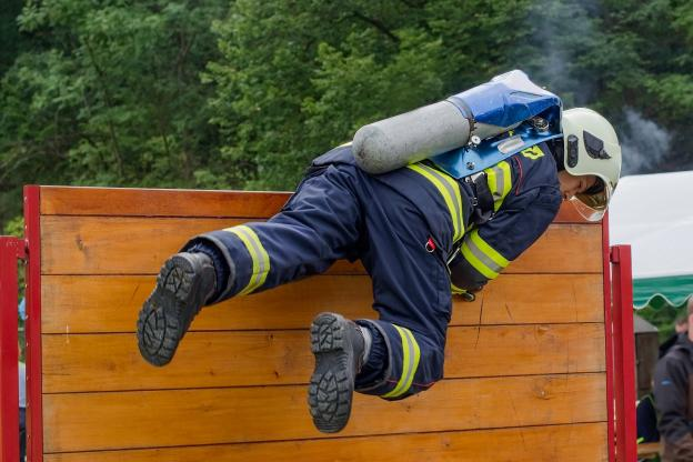préparation physique pompiers
