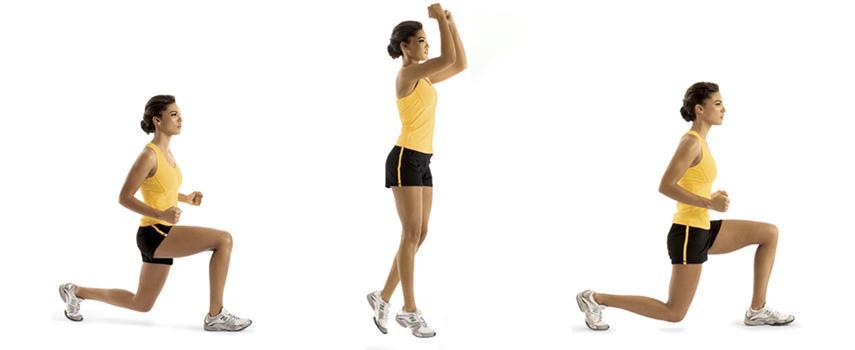 Programme renforcement musculaire jambes : fentes