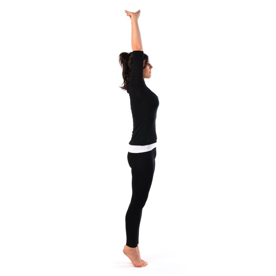 Yoga posture de la montagne