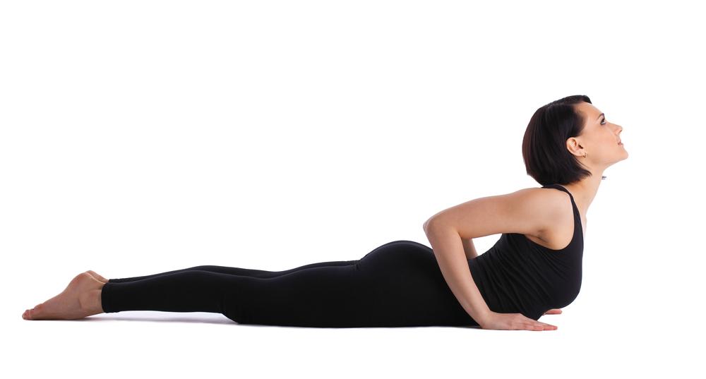 Yoga posture du petit cobra