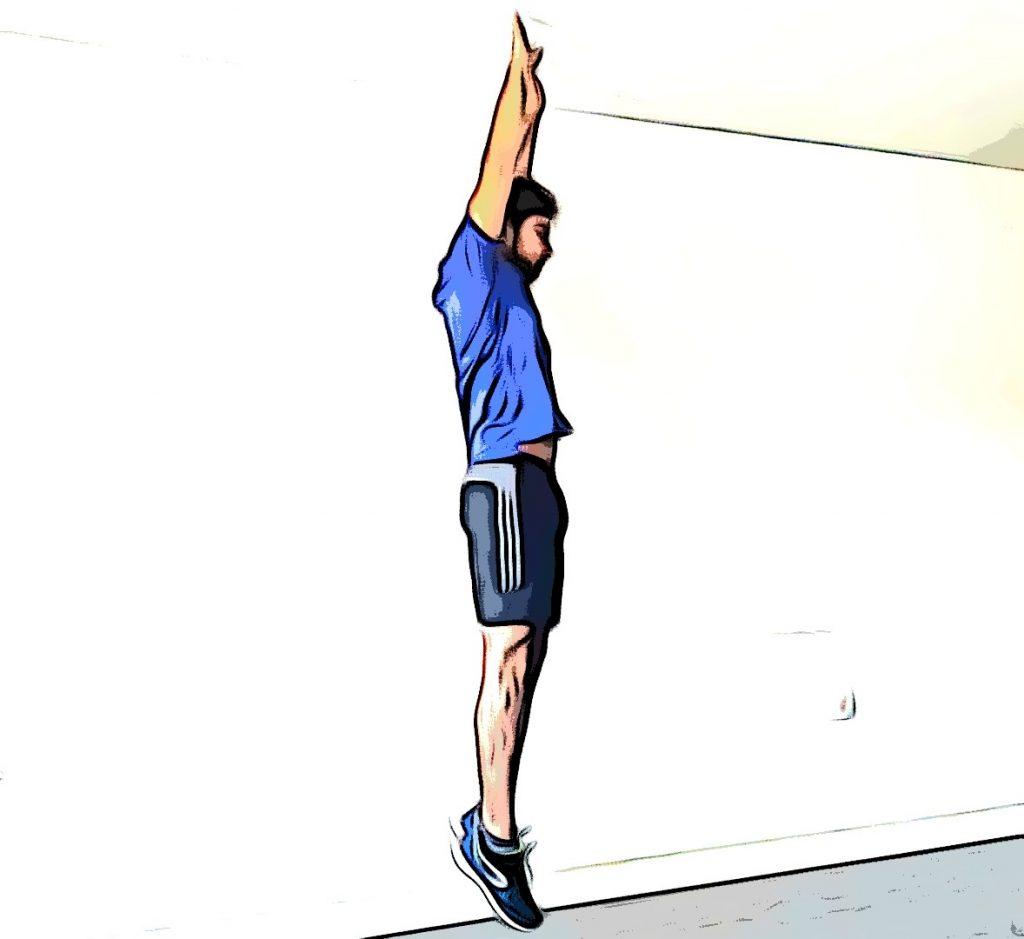 Burpee : le saut