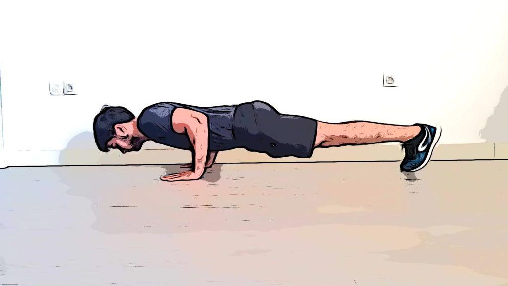 Exercices de musculation sans matériel : les pompes