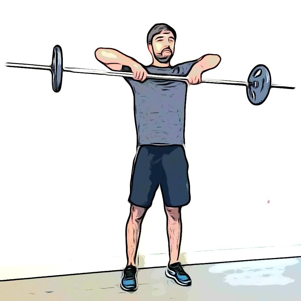 Exercices de musculation : tirage menton