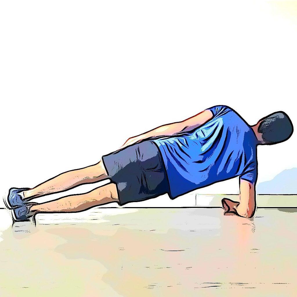 Gainage latéral pour un renforcement musculaire en course à pied