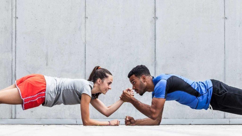 Un couple de sportif souffrant de diabète