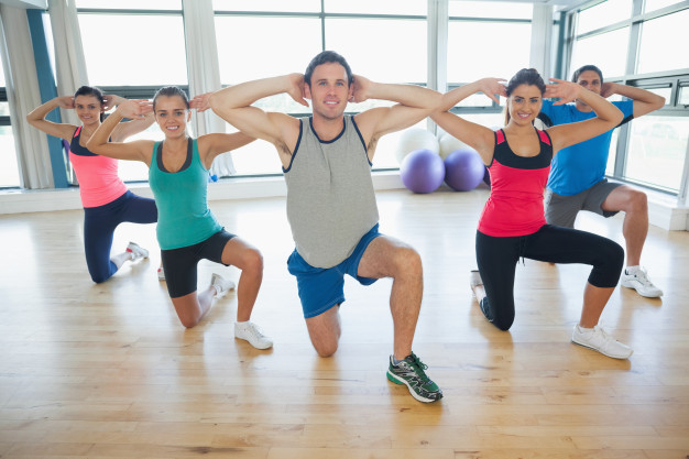 Séance de fitness sans matériel