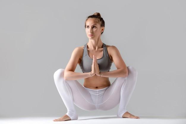Malasana pour améliorer son squat